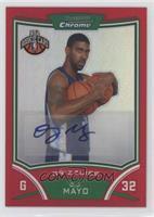 NBA Rookie Card Autograph - O.J. Mayo #/5