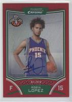 NBA Rookie Card Autograph - Robin Lopez #/5