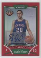 NBA Rookie Card Autograph - Ryan Anderson #/5