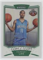 NBA Rookie Card Autograph - Courtney Lee #/50