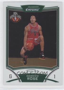 2008-09 Bowman Draft Picks & Stars - Chrome #111 - NBA Rookie Card - Derrick Rose