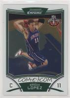 NBA Rookie Card - Brook Lopez