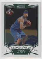 NBA Rookie Card - JaVale McGee