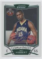 NBA Rookie Card Autograph - Roy Hibbert