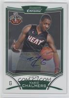 NBA Rookie Card Autograph - Mario Chalmers
