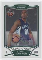 NBA Rookie Card Autograph - Darrell Arthur