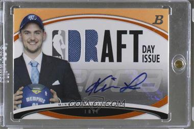2008-09 Bowman Draft Picks & Stars - Draft Day Issue Relics - Orange Combos Autograph [Autographed] #DDIA-KL - Kevin Love /25