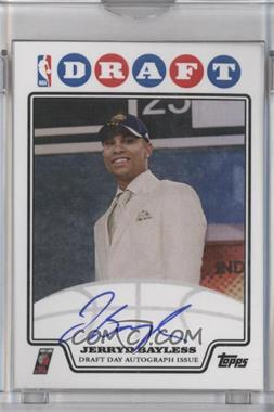 2008-09 Draft Day Autographs - [Base] #DDAJB - Jerryd Bayless