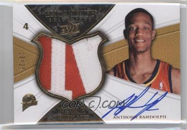 2008-09 Exquisite Collection - Noble Nameplates #NA-AR - Anthony Randolph /25
