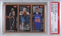 Russell Westbrook, Kevin Love, Danilo Gallinari [PSA 9]