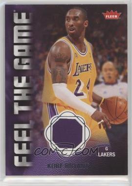 2008-09 Fleer - Feel the Game Memorabilia #FG-KB - Kobe Bryant
