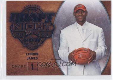2008-09 Fleer Hot Prospects - [Base] - Blue #102 - Lebron James