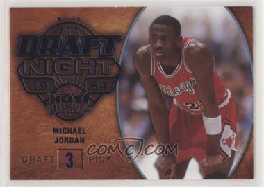 2008-09 Fleer Hot Prospects - [Base] - Blue #103 - Michael Jordan