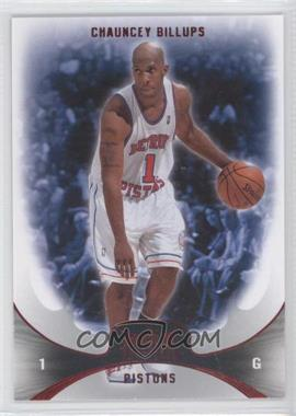 2008-09 Fleer Hot Prospects - [Base] - Red #7 - Chauncey Billups /25