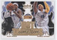 Allen Iverson, Carmelo Anthony
