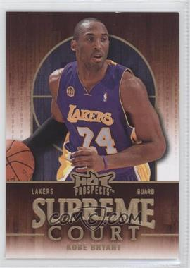 2008-09 Fleer Hot Prospects - Supreme Court #SC-10 - Kobe Bryant