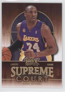 2008-09 Fleer Hot Prospects - Supreme Court #SC-10 - Kobe Bryant