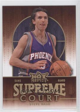 2008-09 Fleer Hot Prospects - Supreme Court #SC-15 - Steve Nash