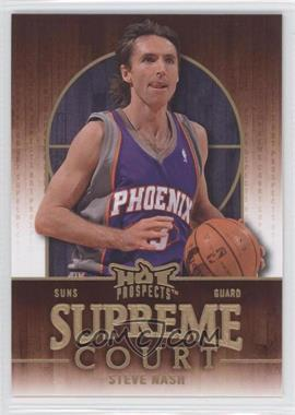 2008-09 Fleer Hot Prospects - Supreme Court #SC-15 - Steve Nash