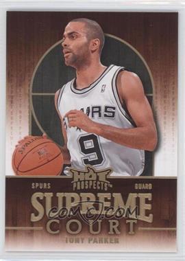 2008-09 Fleer Hot Prospects - Supreme Court #SC-17 - Tony Parker