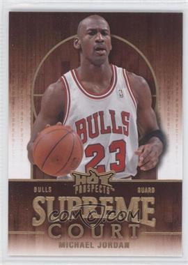 2008-09 Fleer Hot Prospects - Supreme Court #SC-3 - Michael Jordan