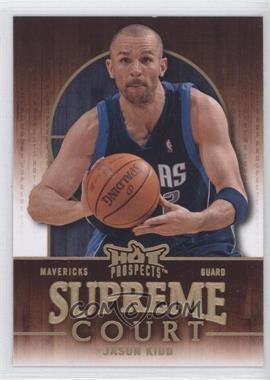 2008-09 Fleer Hot Prospects - Supreme Court #SC-5 - Jason Kidd