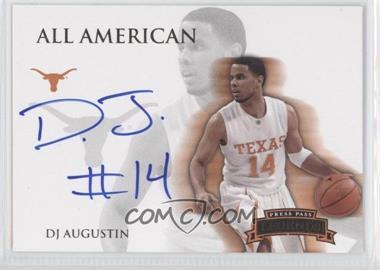 2008-09 Press Pass Legends - All American - Autograph [Autographed] #AA-DA - D.J. Augustin /105