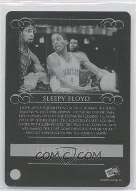 2008-09 Press Pass Legends - [Base] - Press Plate Black Back #40 - Sleepy Floyd /1