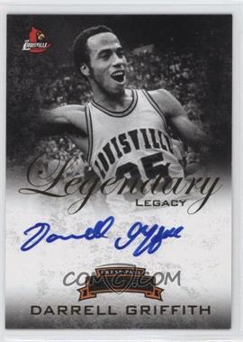2008-09 Press Pass Legends - Legendary Legacy - Autograph [Autographed] #LL-DG - Darrell Griffith /259