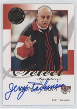 2008-09 Press Pass Legends - Select Signatures #SS-JT - Jerry Tarkanian