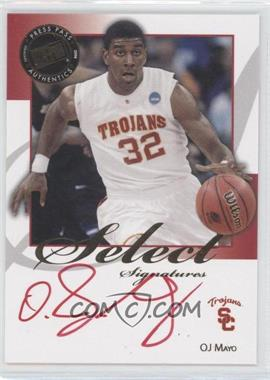 2008-09 Press Pass Legends - Select Signatures #SS-OM - O.J. Mayo