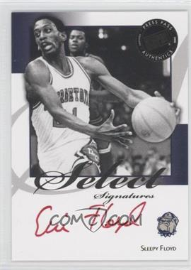 2008-09 Press Pass Legends - Select Signatures #SS-SF.2 - Sleepy Floyd (Red Ink)