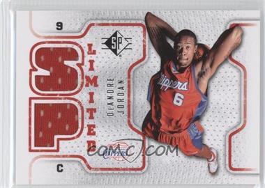 2008-09 SP - Retail Limited #SPL-DJ - DeAndre Jordan