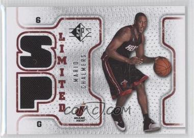 2008-09 SP - Retail Limited #SPL-MC - Mario Chalmers