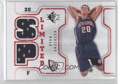 2008-09 SP - Retail Limited #SPL-RA - Ryan Anderson