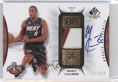 2008-09 SP Authentic - [Base] #108 - Mario Chalmers /499