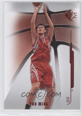 2008-09 SP Authentic - Retail [Base] #78 - Yao Ming