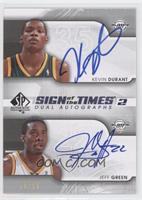 Kevin Durant, Jeff Green /50
