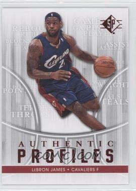 2008-09 SP Authentic Profiles - Retail [122916] #AP-24 - Lebron James