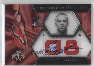 2008-09 SP Rookie Threads - [Base] #100 - Jerryd Bayless /399