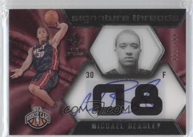 2008-09 SP Rookie Threads - [Base] #96 - Michael Beasley /399