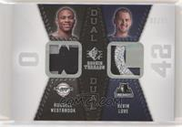 Russell Westbrook, Kevin Love #/25