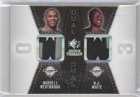Russell Westbrook, D.J. White /25
