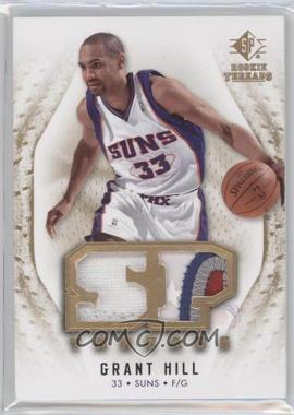 2008-09 SP Rookie Threads - SP Threads - Jersey/Patch #T-GH - Grant Hill