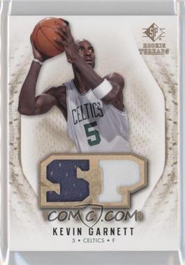 2008-09 SP Rookie Threads - SP Threads - Jersey/Patch #T-KG - Kevin Garnett