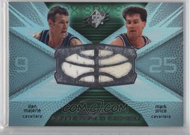 2008-09 SPx - Winning Materials Combo #WMC-PM - Dan Majerle, Mark Price