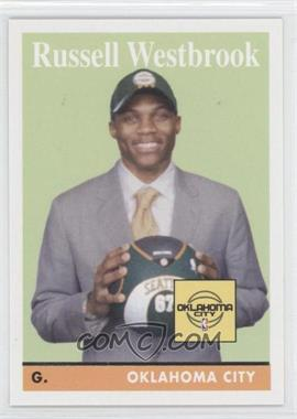 2008-09 Topps - [Base] - 1958-59 Variations #199 - Russell Westbrook