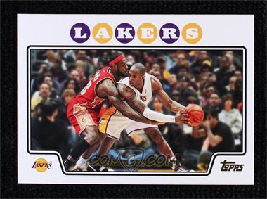 2008-09 Topps - [Base] - Gold Foil #24 - Kobe Bryant