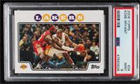 Kobe Bryant (Guarded by LeBron James) [PSA9MINT]