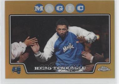 2008-09 Topps Chrome - [Base] - Gold Refractor #80 - Hedo Turkoglu /50